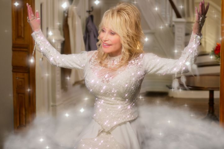 Just when you thought Dolly Parton couldn't out-camp herself...