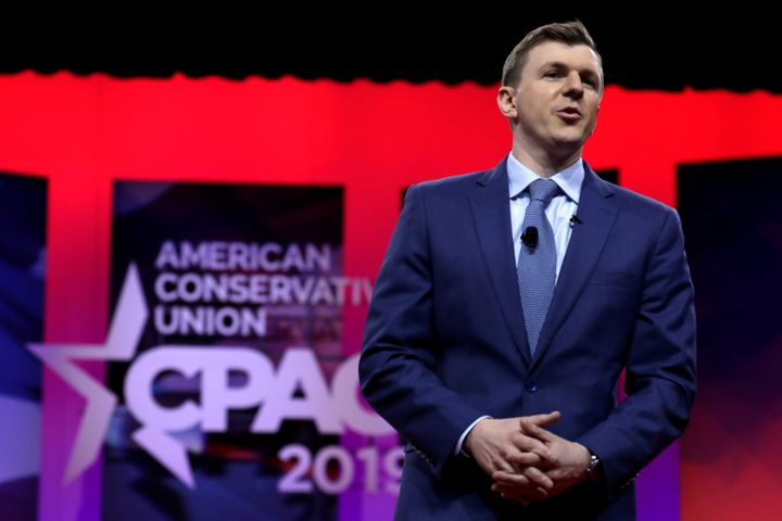 James O'Keefe, the well-funded far-right propagandist behind Project Veritas, infamous for creating deceptively edited videos