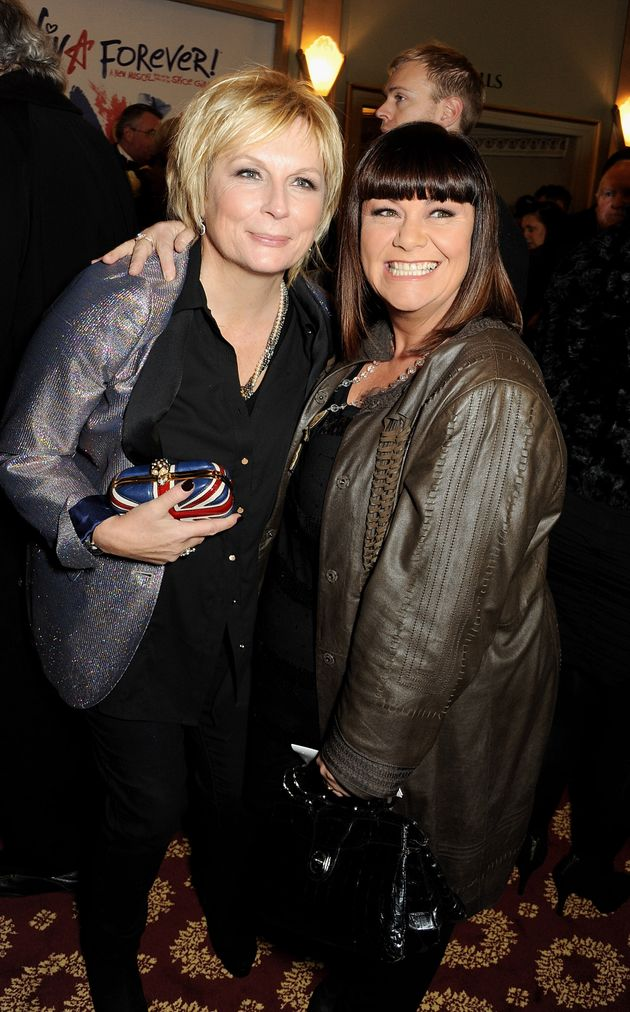 Jennifer Saunders and Dawn French, pictured in 2012