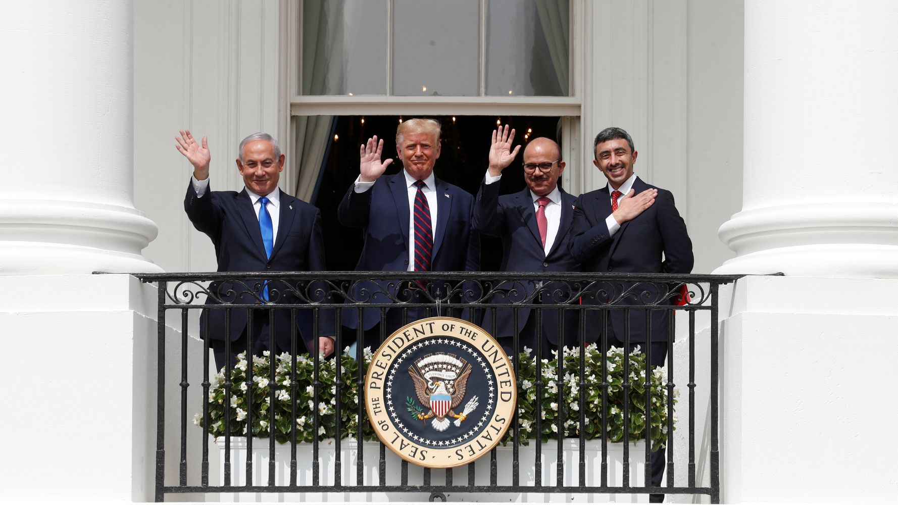 Image Trump's Mideast 'Peace Deals' Didn't Wow Americans, But They Won Him Rare Points