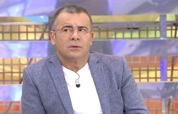 Jorge Javier Vázquez durante su intervención en 'Sálvame Diario'.