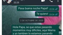 Comparte el último WhatsApp que envió a su padre antes de morir y no hay mejor homenaje