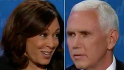 'Mr. Vice President, I'm Speaking': Kamala Harris Shuts Down Mike Pence's