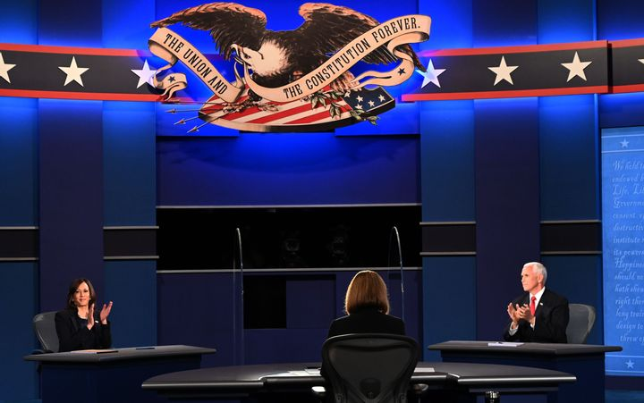 Sen. Kamala Harris (D-Calif.) sparred with Vice President Mike Pence at the lone vice presidential debate of the 2020 electio