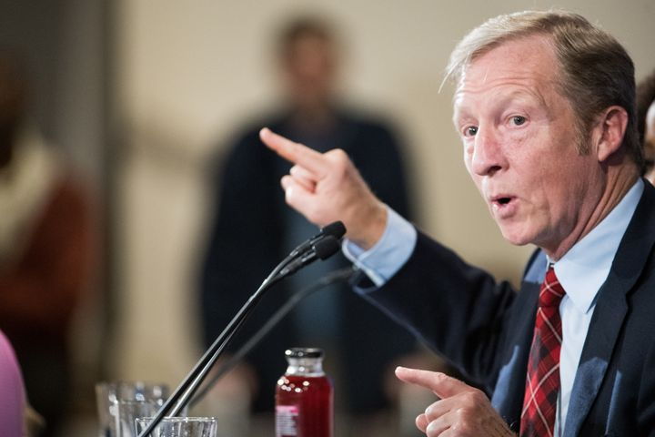 Tom Steyer, a billionaire Democratic donor and former presidential candidate, is the major funder behind NextGen, which plans