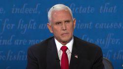 Una mosca en el pelo de Pence, la auténtica protagonista del debate