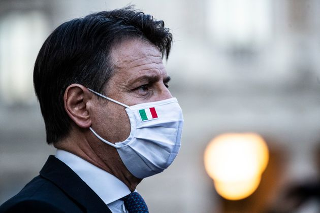 07/10/2020Roma,il presidente del Conisiglio Giuseppe Conte in conferenza stampa sul nuovo decreto