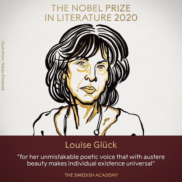 2020 Nobel Prize in Literature for American poet Louise