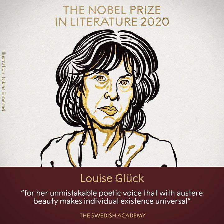 2020 Nobel Prize in Literature for American poet Louise Glück