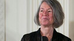 La poetisa estadounidense Louise Glück, Nobel de