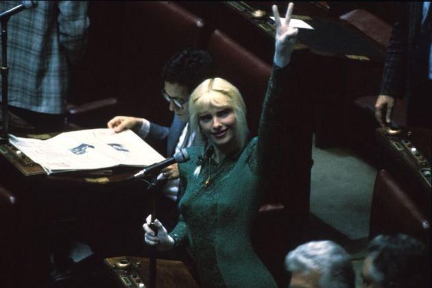 il 2 luglio 1987 Ilona Staller varcò per la prima volta l'ingresso di Montecitorio da
