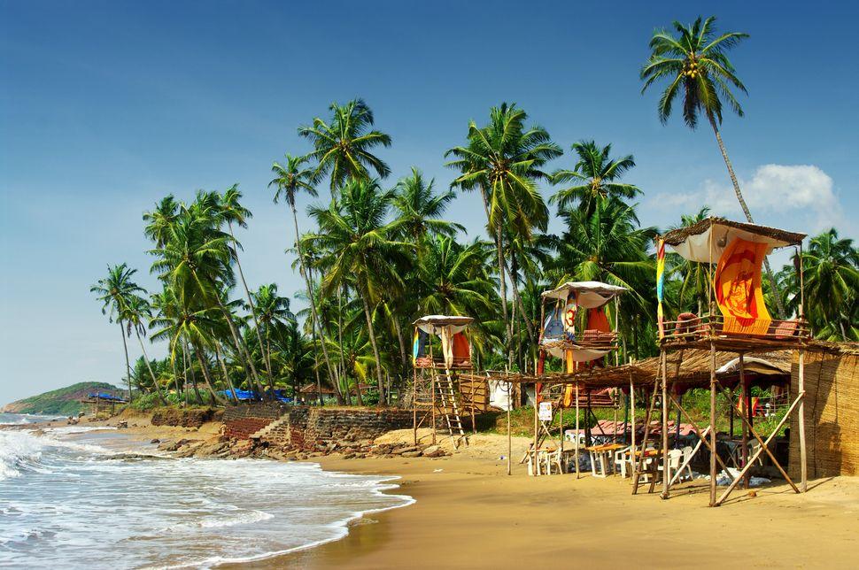 Goa's idyllic beach, India
