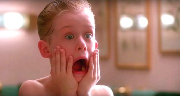 Macaulay Culkin dans «Home Alone»