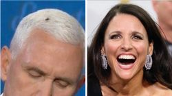 Julia Louis-Drefyus Has One Regret About The Fly That Landed On Pence's