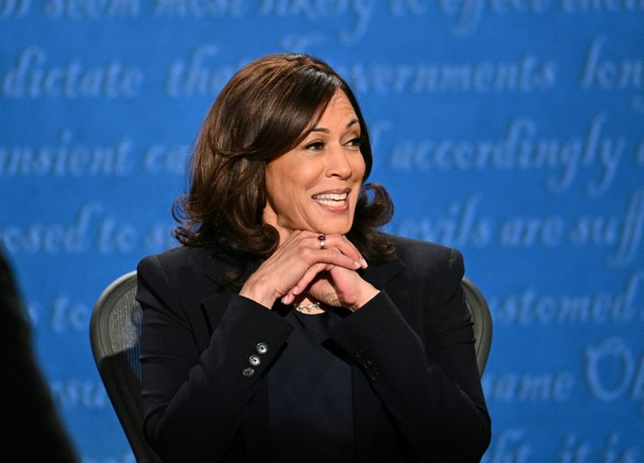 Sen. Kamala Harris (Calif.), the Democratic vice presidential nominee, debated Vice President Mike Pence at the University of