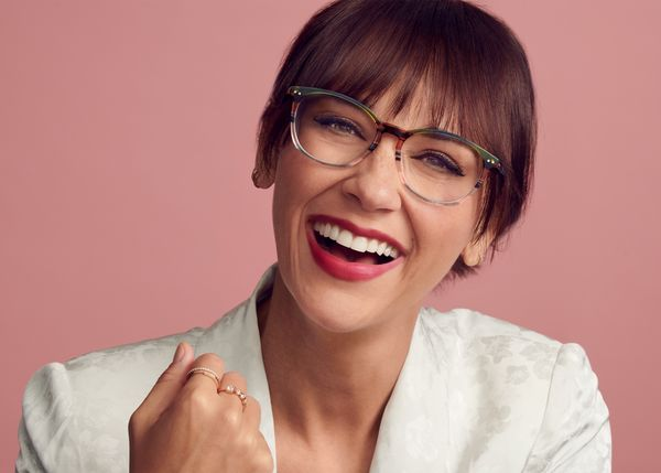 "If seeing is believing, actor Rashida Jones believes you'll enjoy <a href=""https://www.zennioptical.com/b/rashida-jones-glass"