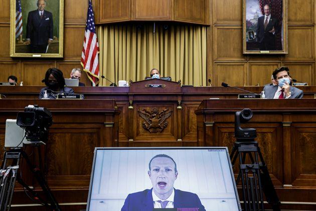 Zuckerberg comparece ante la Comisión Judicial de la Cámara de Representantes de Estados...