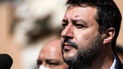 Salvini arriva ben ultimo alla