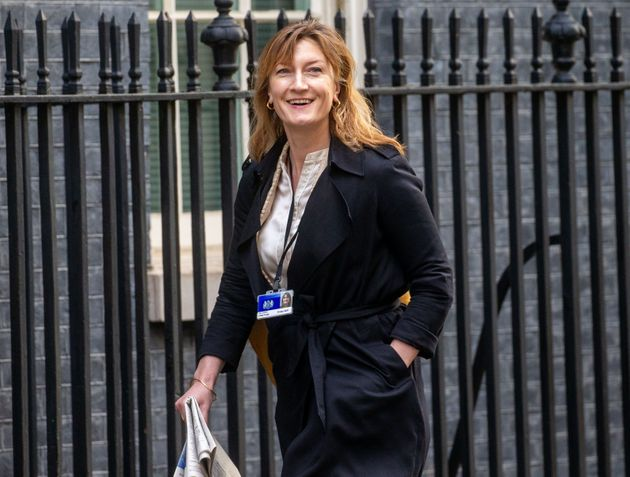 """Allegra Stratton is reported to have""""impressed"""" Boris Johnson while working for chancellor..."""