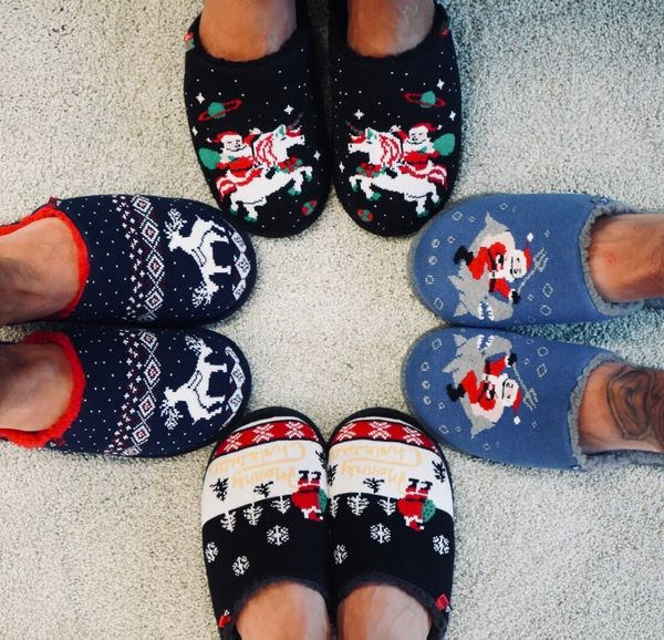 """Today's modern ugly holiday sweaters are designed to be in your face. These <a href=""""https://www.reef.com/shop/mens-shoes/ree"""