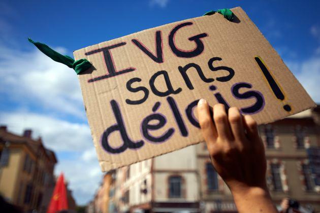 Lors d'une manifestation à Toulouse en septembre 2019, les manifestantes réclamaient notamment...