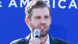 Eric Trump's Spin On His Dad's Debate Refusal Has People Scratching Their