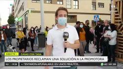El inesperado final de este vídeo de Telemadrid desata el cachondeo en Twitter: