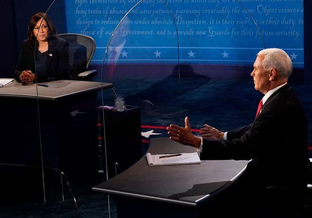 ユタ州ソルトレークシティで行われた副大統領候補による討論会