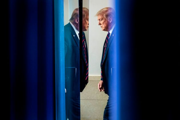 El presidente estadounidense, Donald