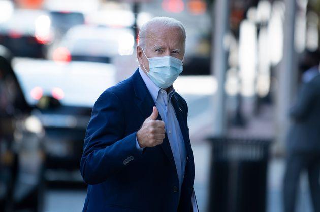 El candidato demócrata a la Presidencia, Joe