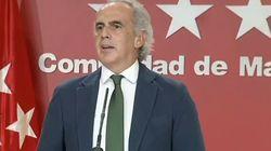 El consejero de Sanidad de Madrid, sobre el estado de alarma: