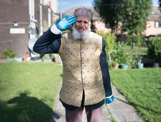 Dabirul Islam Choudhury who has been awarded the OBE for charitable service during Covid-19, photographed...