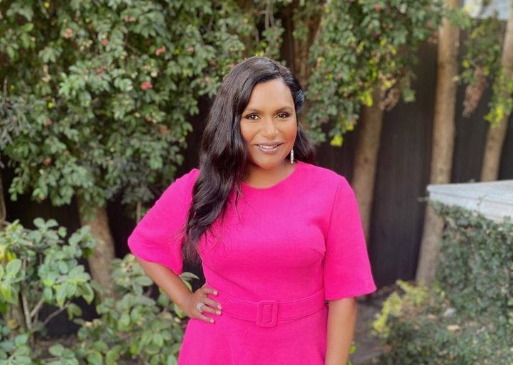"""Mindy Kaling teased the 5.6 million followers on her Instagram account, before """"The Late Show"""" aired, that she was about """"to drop some big news."""""""
