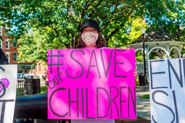 Rassemblement à Keen, au New Hampshire, 19 septembre