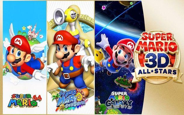 """Une compilation pour la Switch:""""Super Mario 3D All-Stars"""" célèbre cette..."""