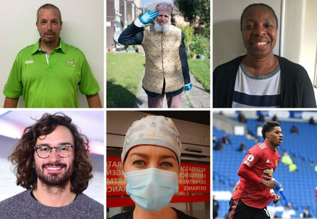 Some of the people recognised in the Queen's Birthday Honours