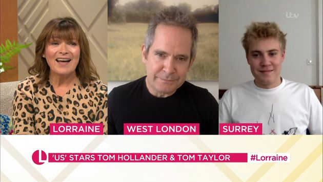 Lorraine Kelly speaks to Toms Hollander and Taylor about their show,