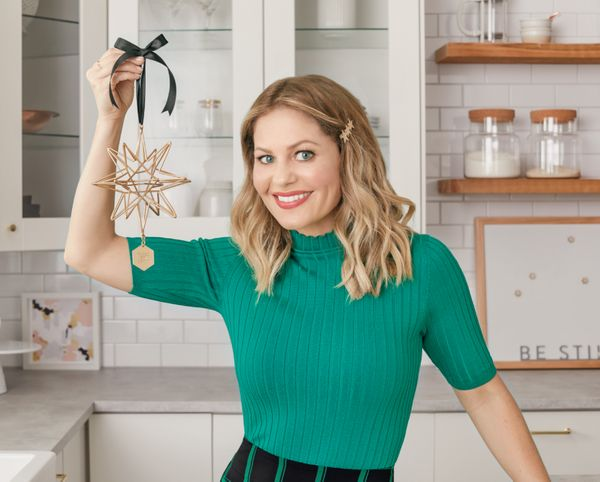 Since Hallmark Channel heroine Candice Cameron Bure is probably on your TV during the holidays, why not keep her on the tree