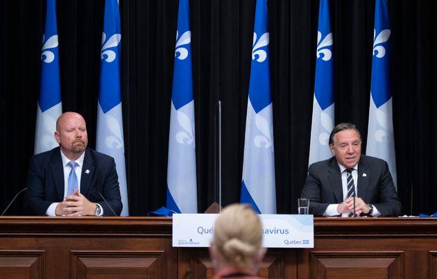 Le premier ministre François Legault a annoncé vendredi que le député de Vachon Ian Lafrenière remplaçait...