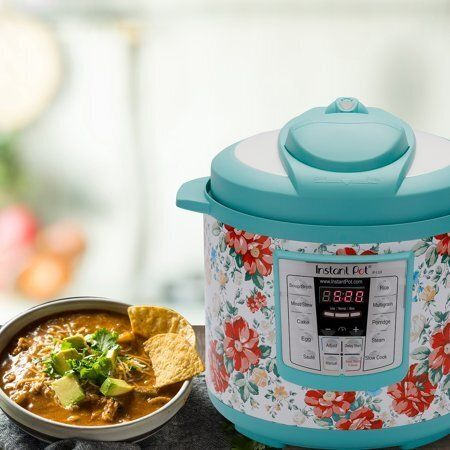 An Instant Pot is kitchen hero that does the work of seven different kitchen gadgets, and has the ability to slow cook, sauté, steam, stew, cook rice and keep your food warm like a chafing dish.