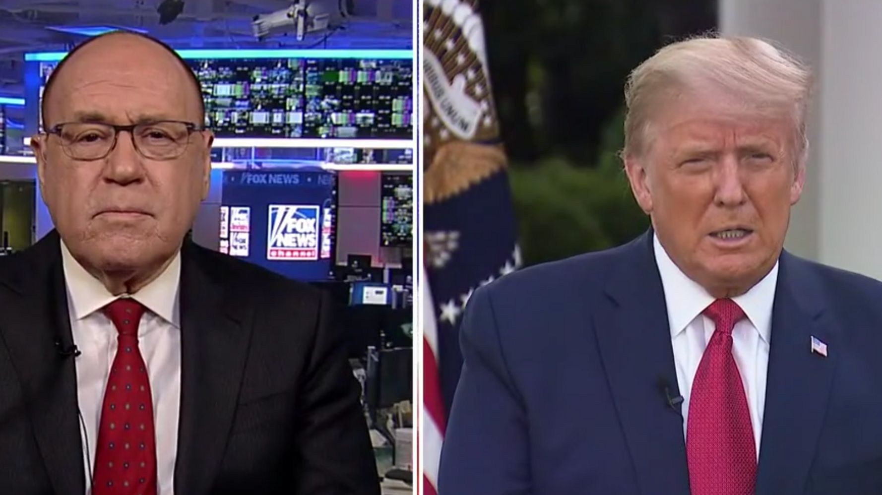 Trump Takes Sham 'Health Assessment' In Bizarre Fox Appearance