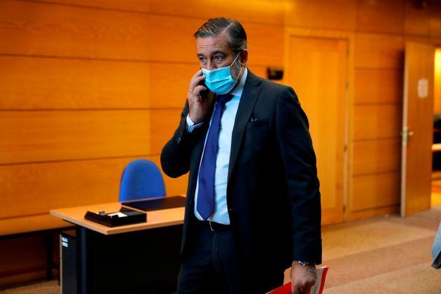 Enrique López, en la Asamblea de