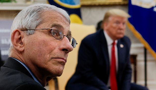 Anthony Fauci est l'un des experts médicaux de la Maison Blanche. Et ce 9 octobre, il a dû...