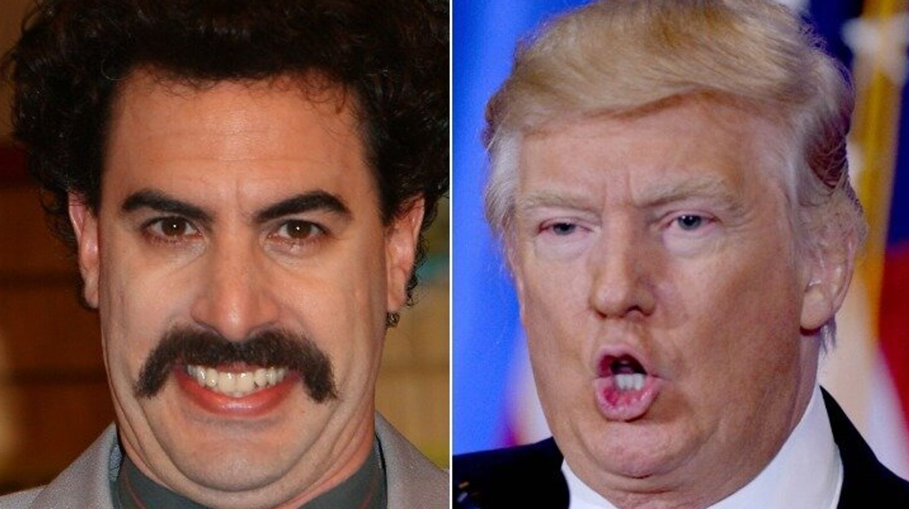 Trump Lashes Out At 'Borat' Creator Sacha Baron Cohen: 'He's A Creep'