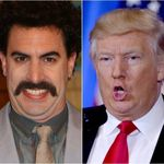 Trump Lashes Out At 'Borat' Creator Sacha Baron Cohen: 'He's A