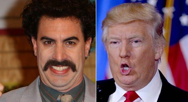 Borat and Donald