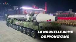 Un missile géant dévoilé à l'occasion des 75 ans du régime