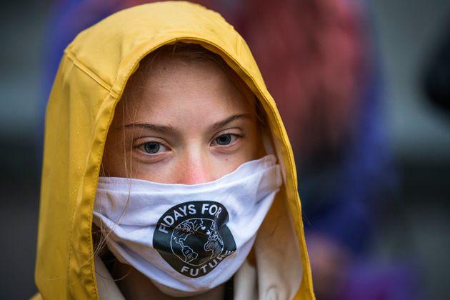 Greta Thunberg, ici lors d'une manifestation