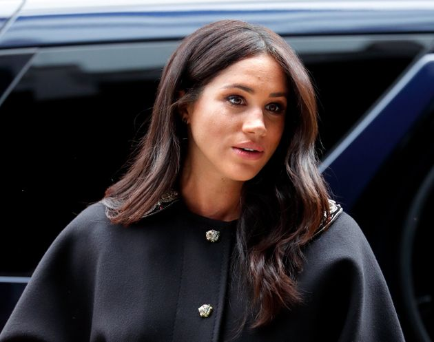 Meghan Markle in March 2019, when she was pregnant with her son,