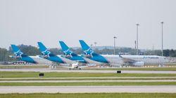 Acquisition d'Air Transat: Air Canada paiera presque quatre fois moins que